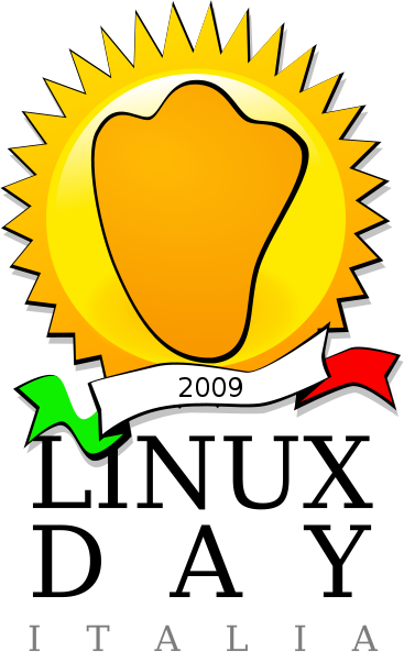 Linux day 2009 logo